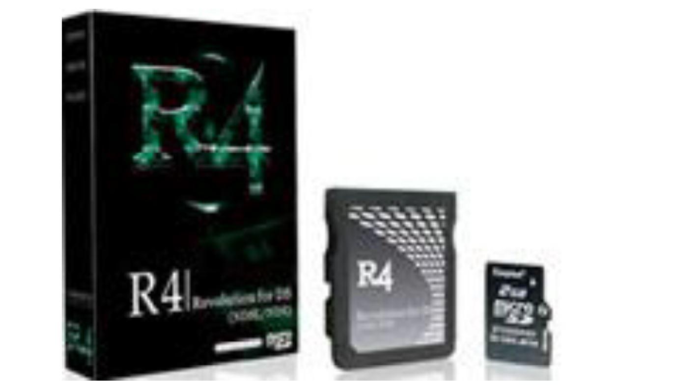 Flash Cart for NDS and NDS Lite - מתאם R4.  המתאם המוכר ביותר עבור מכשירי נינטנדו DS ונינטנדו DS Lite.