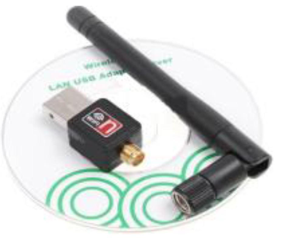 WiFi Mini כרטיס רשת אלחוטי. תקן תקשורת - 802.11N. מהירות - 150Mbps.
