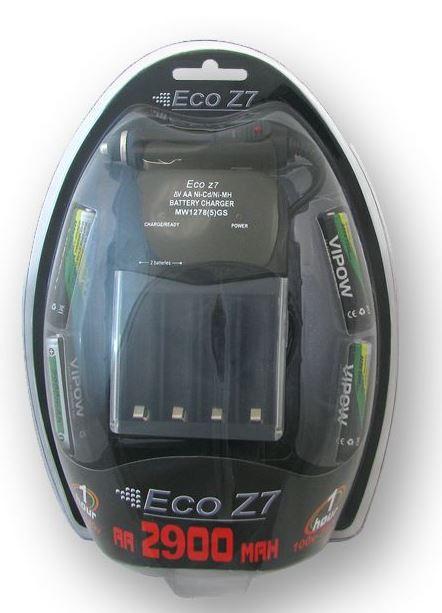 מטען מהיר לסוללותAA ECOZ7