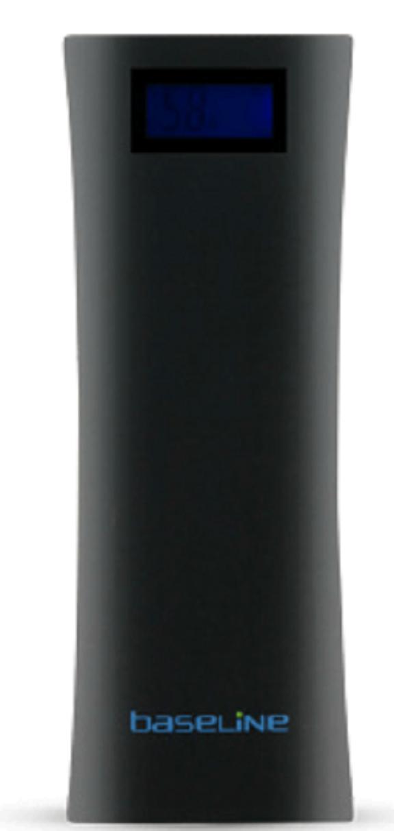 סוללה חיצונית BLACKLINE PowerBank 10400mAh