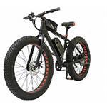 אופניים חשמליים מדגם בסידן עם גלגלי בלון - Becidan