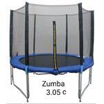 טרמפולינה 3.05 מטר 10 פיט zumb