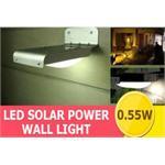 Solar Sound Sensor מנורת לד LED סולארית עם צליל