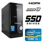 מחשב נייח מורכב i5 Dual Core  H55 זכרון 4GB דיסק קשיח SSD 240GB