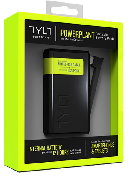 מטען נייד לאייפון 5 TYLT Powerbank  5200MA