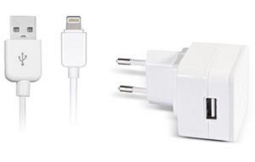 Dexim - Home Charger iPhone 5/6/6Plus -White