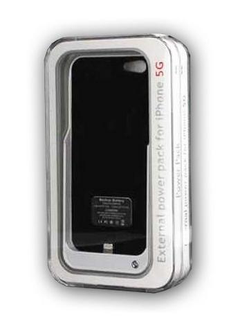 כיסוי מטען לאייפון 5 קיבולת של 2000mAh