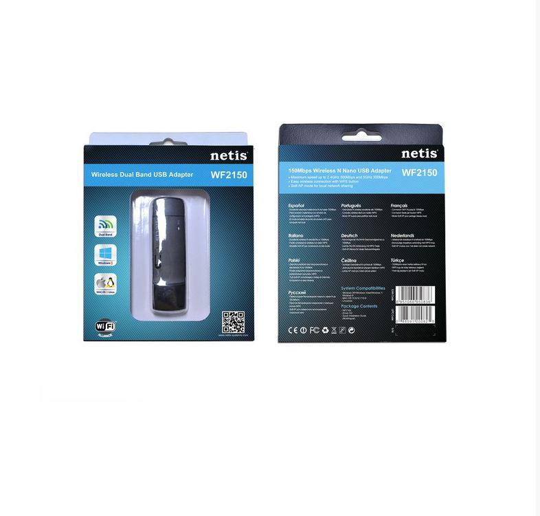 כרטיס רשת אלחוטי NETIS WF2150 USB יבואן רשמי