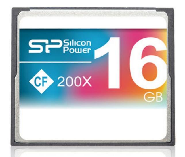 כרטיס זיכרון  SILICON POWER Compact Flash 200X 16GB