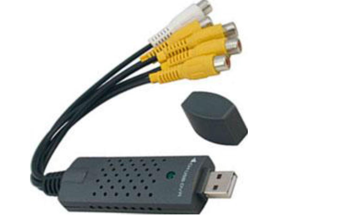 USB VideoCapture Adapter כרטיס וידאו חיצוני דרך USB DVR לארבע כניסות