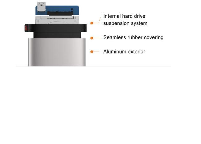 כונן קשיח חיצוני Silicon Power Armor A85 4TB