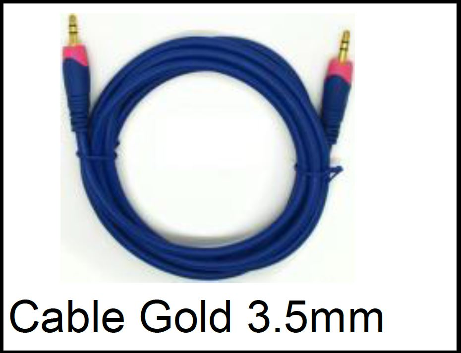 Cable Gold 3.5mm