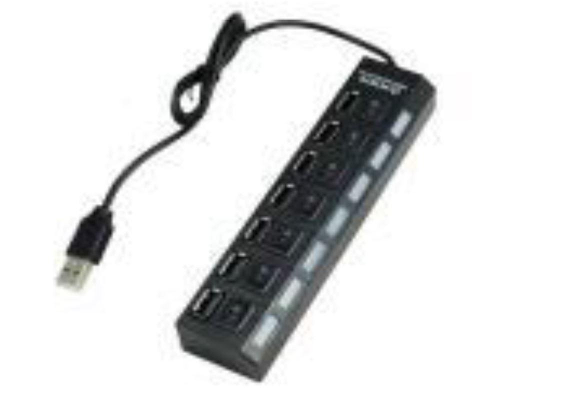 USB 2.0 HUB 7 Ports