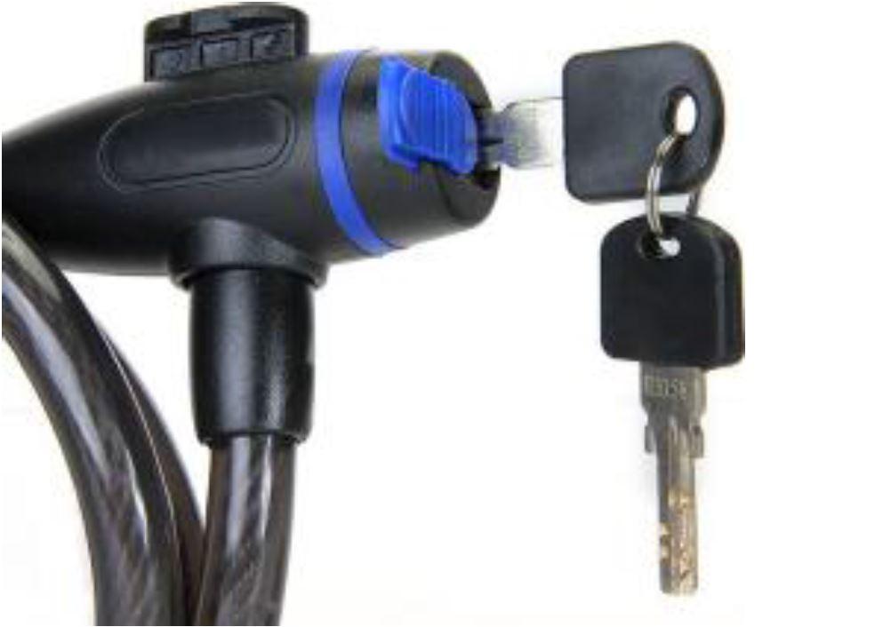 Bicycle lock Key מנעול לאופניים