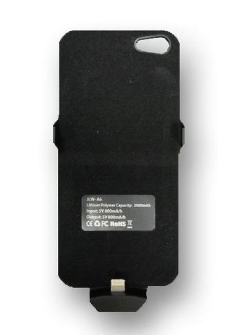 כיסוי מטען לאייפון 5 קיבולת של 2500mAh