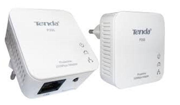 מתאם רשת על גבי רשת החשמל PLC משולב עם חיבור אלחוטי WIFI TENDA PW201A