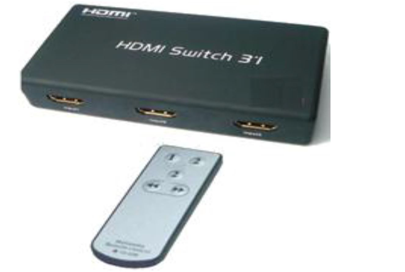 HDMI Switcher 1:3 with remote control
