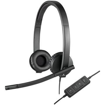 אוזניות + מיק' חוטי USB STERE0 H570