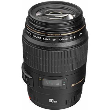 עדשה Canon EF 100mm f/2.8 Macro USM קנון