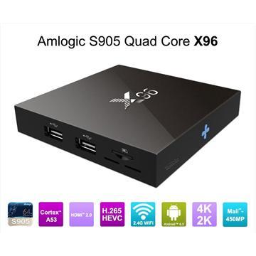 סטרימר 1GB TV BOX 4K ULTRA X96 יבואן רשמי