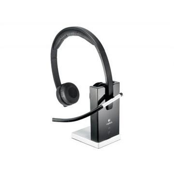 אוזניות + מיקרופון אלחוטי WIRRLESS DUAL H820E