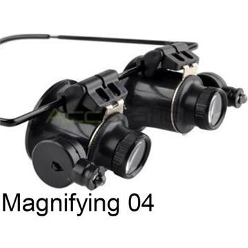 Magnifying 04 משקפי מגדלת עם תאורה