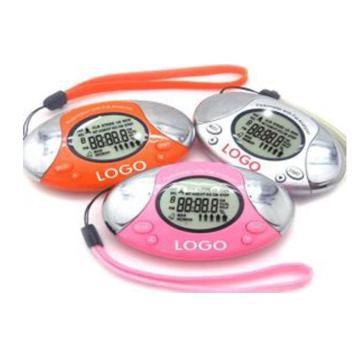 Digital Pedometer with Fat Analyzer פדומטר. המכשיר מד צעדים ומודד מרחק הליכה