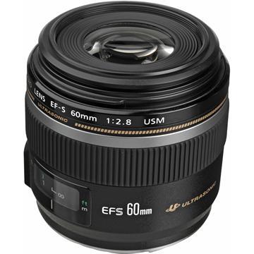 עדשה Canon EF-S 60mm f/2.8 Macro USM קנון