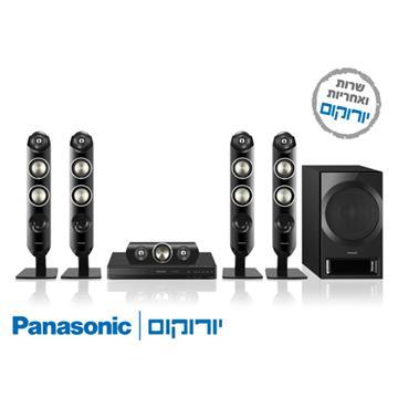 DVD משולב מגבר+רמקולים  Panasonic SCXH333 קולנוע ביתי פנסוניק