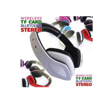 TF CARD FM Radio Bluetooth V3.0 Headphone with  MIC