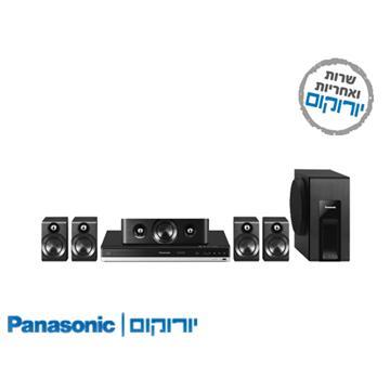 BluRay משולב מגבר+רמקולים  Panasonic SCBTT405 קולנוע ביתי פנסוניק