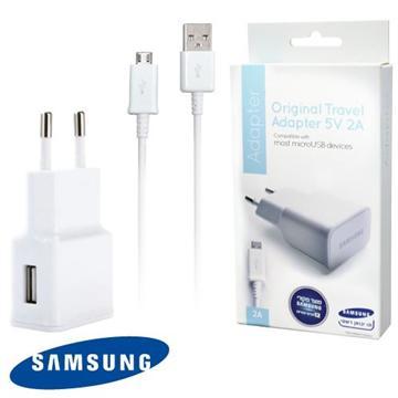 מטען קיר מקורי  2A 5W SAMSUNG GALAXY חשמל + כבל USB