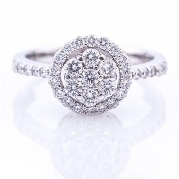 R0101GD טבעת יהלום טבעת אירוסין