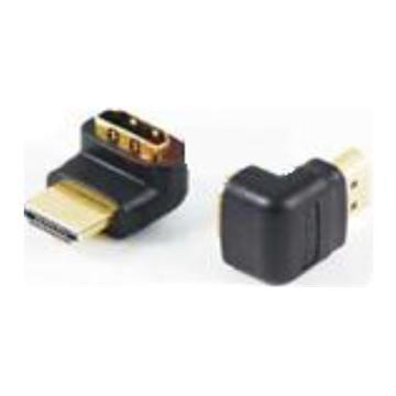 Adaptor HDMI-HDMI מתאם זוויתי בעל שקע ותקע HDMI