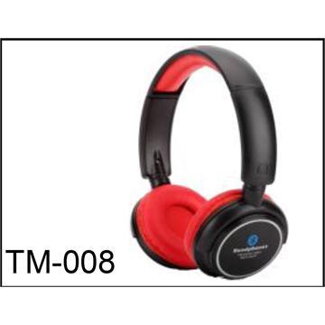 TM-008 אוזניות Bluetooth.