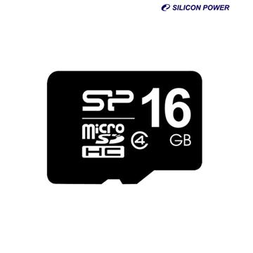 כרטיס זיכרון Silicon Power Micro SDHC 16 GB - Class 4