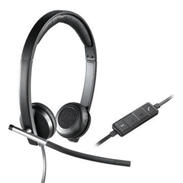 אוזניות + מיקרופון חוטי USB STEREO H650E