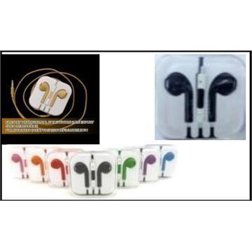 Headphone for iphone 5 with MicroPhone אוזניות לאייפון 5. כולל מיקרופון.