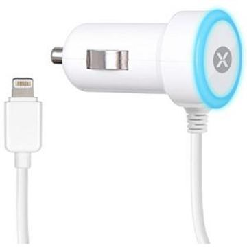 Car Charger iPhone5/ iPhone6/ iPhone6 Plus - 1A- White Dexim