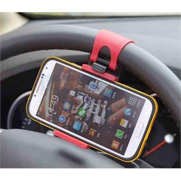 מתקן לאחיזת הסלולארי או GPS על גבי ההגה