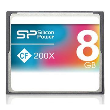 כרטיס זיכרון  SILICON POWER Compact Flash 200X 64GB
