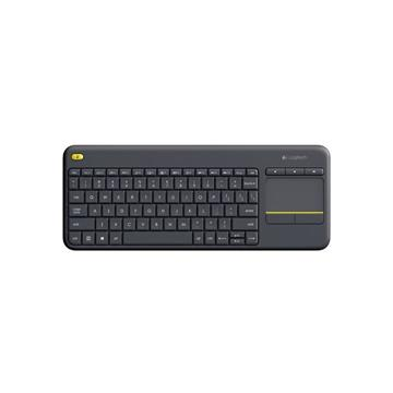 מקלדת Logitech Wireless Touch Keyboard K400 Plus לוג'יטק