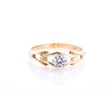 R0137GD טבעת יהלום טבעת אירוסין
