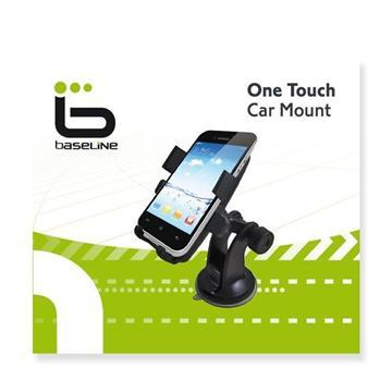 זרוע לטלפון אוניברסלית לניידים לרכב - כל סוגי הניידים - זרוע ONE TOUCH לרכב