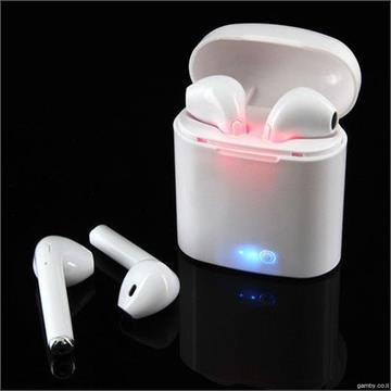 אוזניות סטריאו אלחוטיות i7S TWS Bluetooth