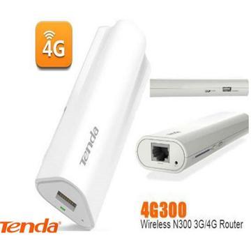 ראוטר סלולארי נייד מבית TENDA דגם 4G300 תומך ברשתות 3G ו-4G LTE