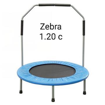 טרמפולינה 1.2 מטר 3.5 פיט zebra