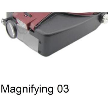 Magnifying 03 משקפי מגדלת עם תאורה