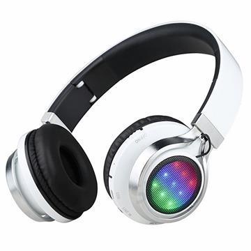אוזניות בלוטוס עם תאורת לד SIMPLY SOUND BT9919
