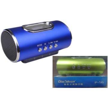 Speaker P-56 FM רמקולים ניידים כולל רדיו דיגיטלי